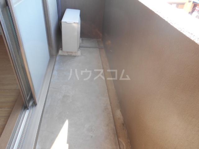 INFINITY 202号室のバルコニー