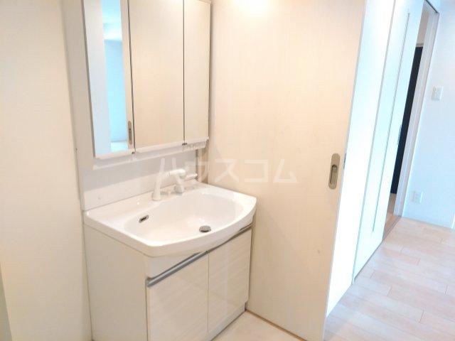 Delphi 401号室の洗面所