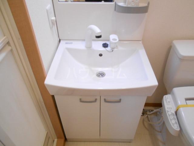 フラッティ今出川天神 303号室の洗面所