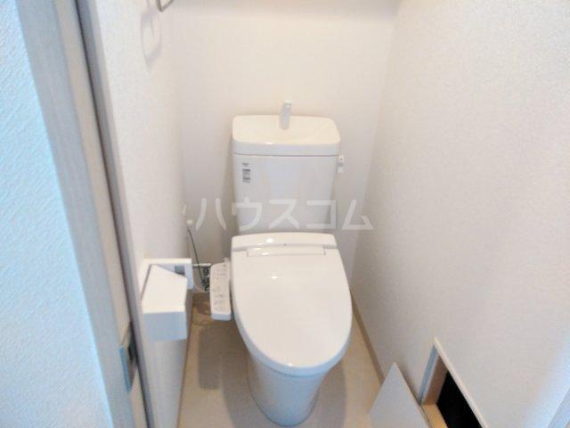 キャンパスヴィレッジ京都西京極 516号室のトイレ