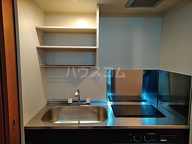 アンシャーレ西ノ京 302号室のキッチン