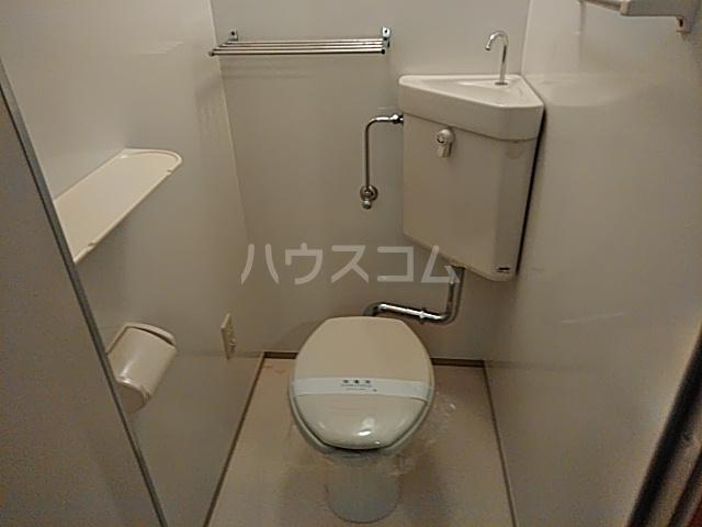 アンシャーレ西ノ京 302号室のトイレ
