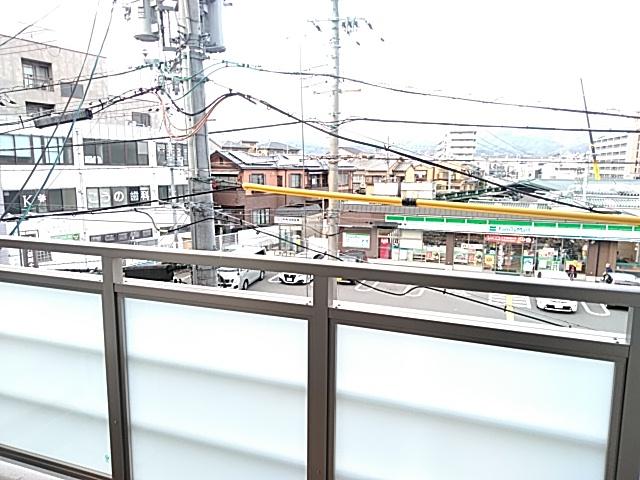 エスカーサ京都四条梅津 205号室の景色