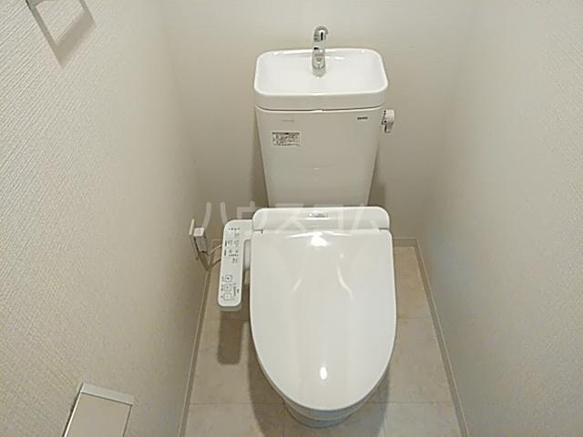 エグゼ京都西 202号室のトイレ