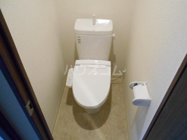 アークリード太秦 108号室のトイレ