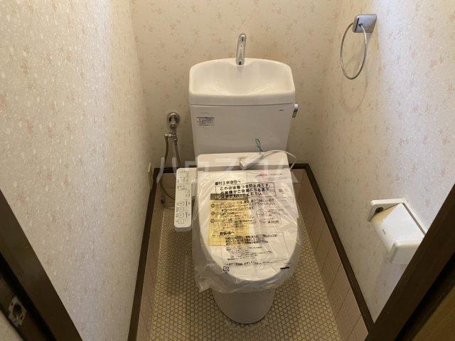 太秦組石町貸家のトイレ