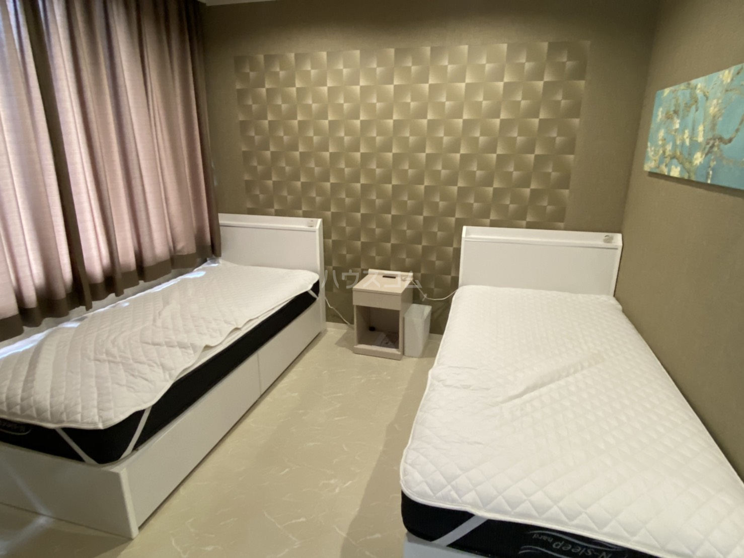 CASA円町のベッドルーム