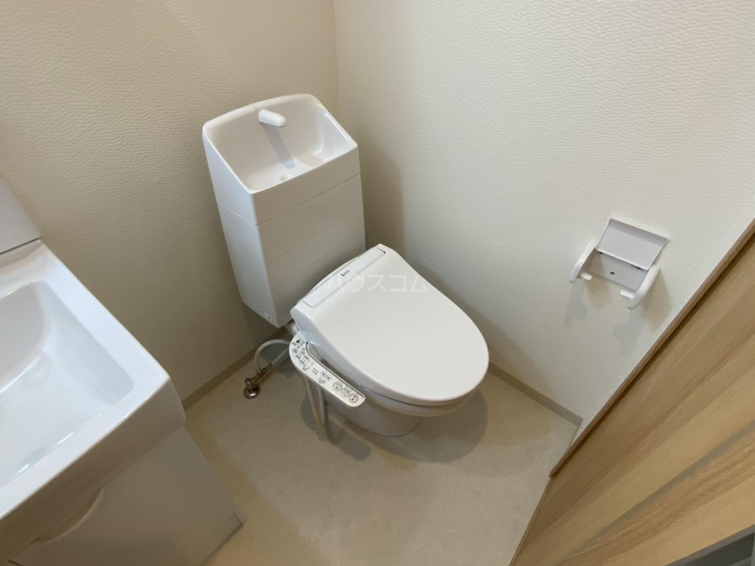 仮)フラッティ千本下長者町 102号室のトイレ