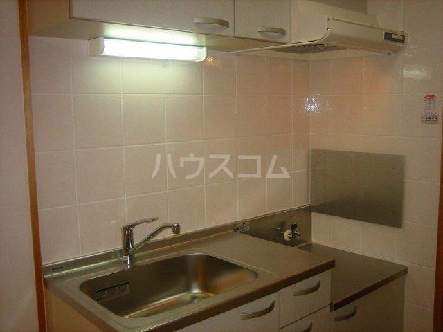 キャッスルナガタ 401号室のキッチン