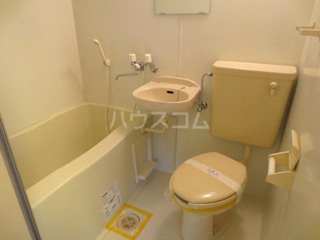 キャッスルナガタ 401号室のトイレ