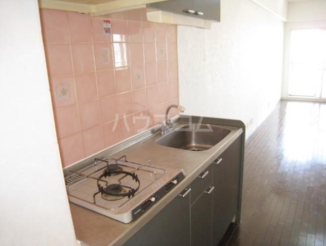 ピュアイン 604号室のキッチン