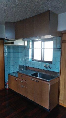 リバービュー赤畑A棟 416号室のキッチン