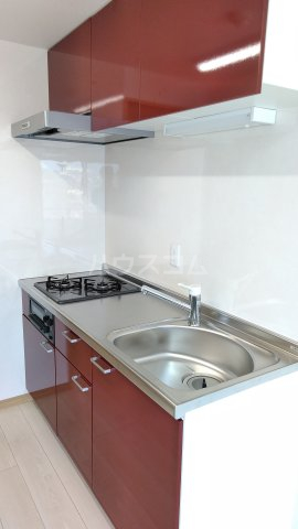 Meith GUSHI 803号室のキッチン