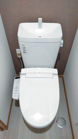 Meith GUSHI 803号室のトイレ
