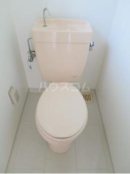 オーシャンパレスウィズペット 407号室のトイレ