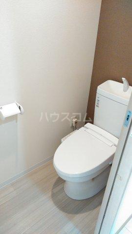 With結 205号室のトイレ