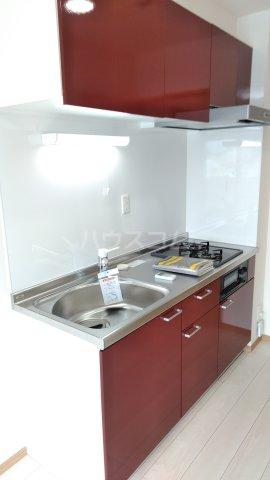 With結 205号室のキッチン
