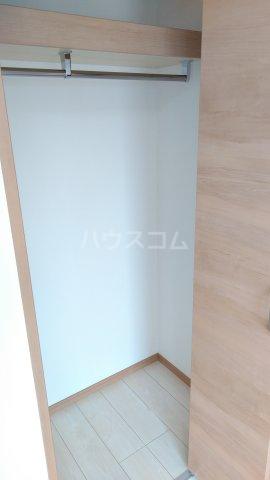 With結 205号室の収納
