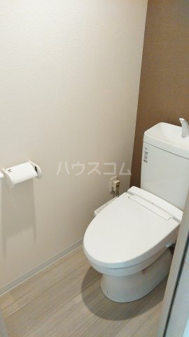 With結 303号室のトイレ