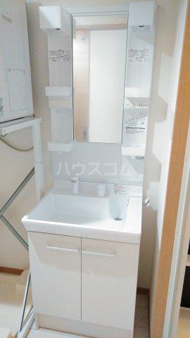 With結 303号室の洗面所