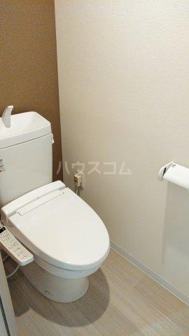 With結 304号室のトイレ