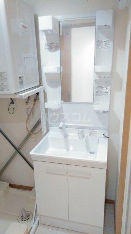 With結 403号室の洗面所