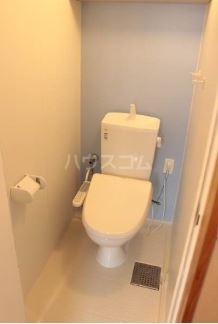 Villa IRIS 303号室のトイレ