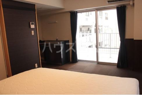 Villa IRIS 401号室のベッドルーム