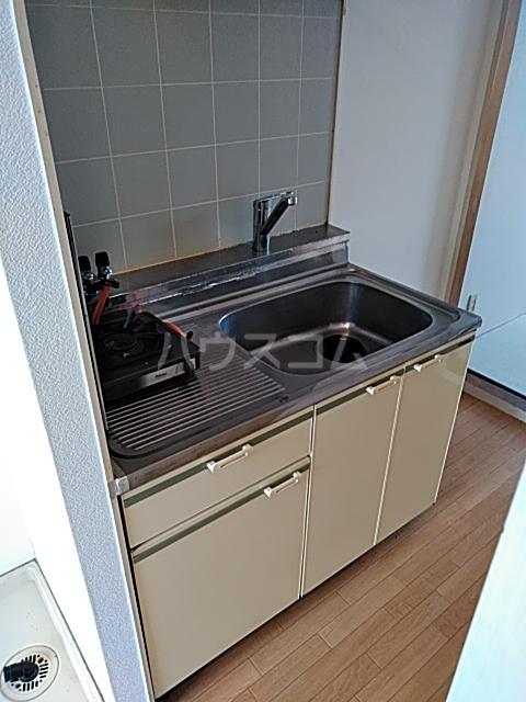 エントピアKT 102号室のキッチン