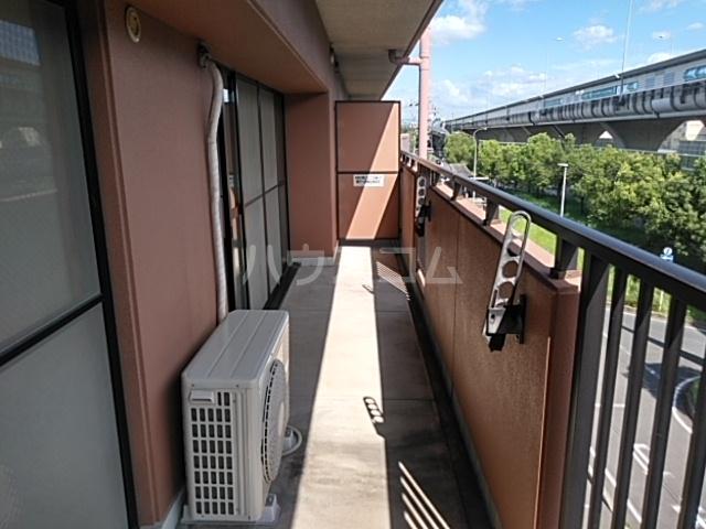 S-FORT上小田井 402号室のバルコニー