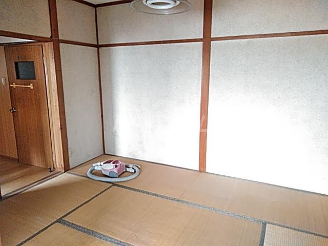 白菊荘 10号室のベッドルーム