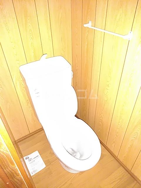 白菊荘 10号室のトイレ