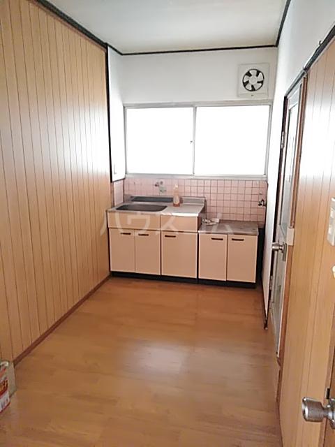 白菊荘 10号室のキッチン
