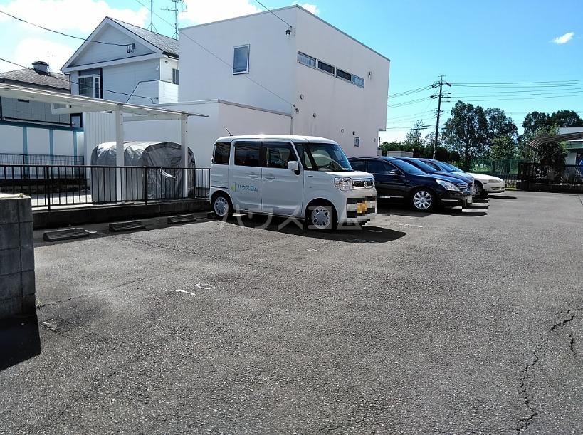 ニューリバーⅠ 2A号室の駐車場