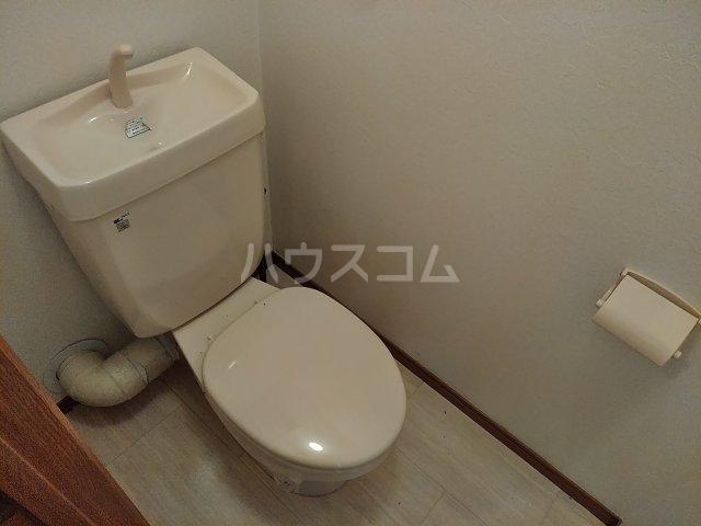 ニューリバーⅠ 2A号室のトイレ