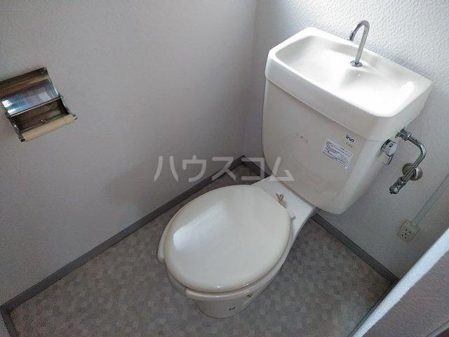 μ's Vintage 406号室のトイレ
