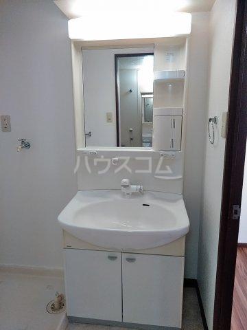 シンビリア花咲 304号室の洗面所