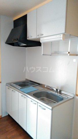 シャルマンドミール駅東 201号室のキッチン