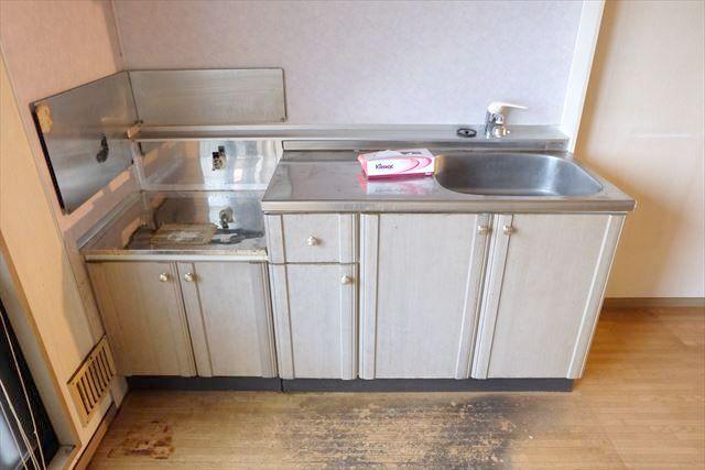 サンガーデンカムアンドエム A棟 202号室のキッチン