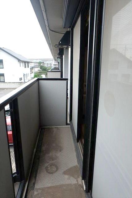 サンガーデンカムアンドエム A棟 202号室のバルコニー