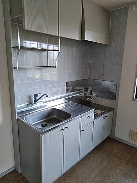 サンビレッジアイランド Ⅱ 201号室のキッチン