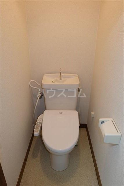 本郷ハイツ A 203号室のトイレ