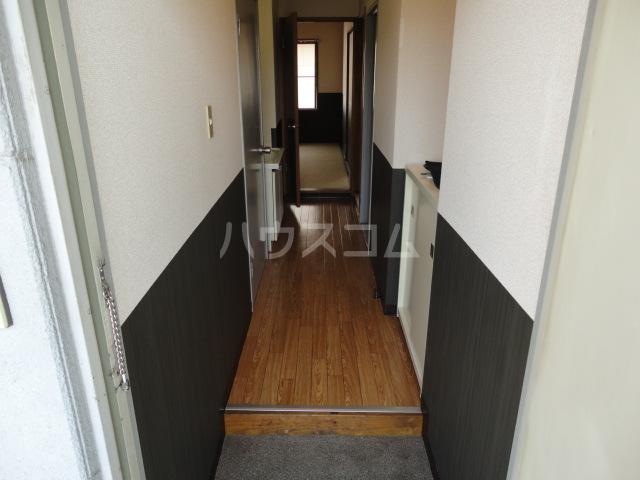 サンハイツ 206号室の玄関