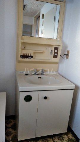 一徳ハイツpart 2 518号室の洗面所