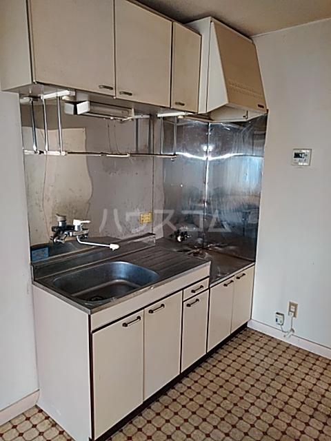 ロイヤルパレス1号棟 201号室のキッチン
