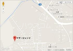 マザービレッジの地図