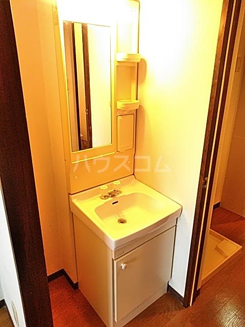 ラ・セゾンY・M 303号室の洗面所