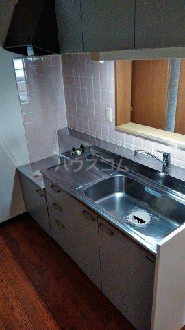 カルネドール 101号室のキッチン