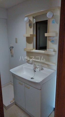 カルネドール 101号室の洗面所