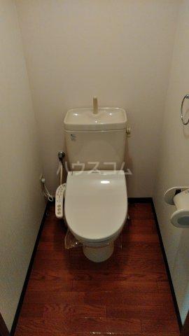 カルネドール 101号室のトイレ